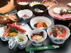 【二食付】◇美食上膳プラン◇かに皿・デザート付 <禁煙>